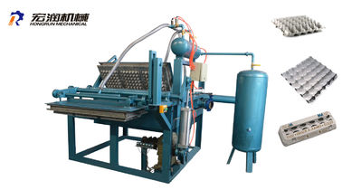 China Small Paper Pulp Moulding Machine , Small Egg Tray Making Machine , Small Egg Tray Machine 1000pcs/h proveedor