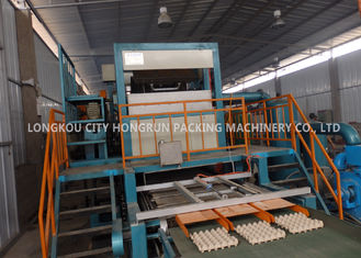 Automatic Paper Pulp Recycling Production Line For Egg Tray Making Machine